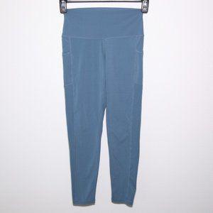 colorfulkoala blue leggings w/pockets Medium